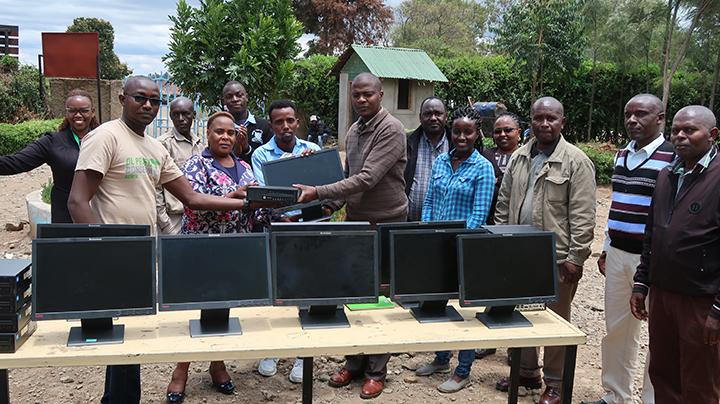 Refurbished machines provided by Enviroserve Kenya